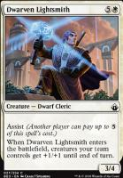 Battlebond Foil: Dwarven Lightsmith