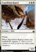Battlebond Foil: Expedition Raptor