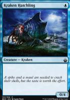 Battlebond Foil: Kraken Hatchling