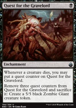 Battlebond Foil: Quest for the Gravelord