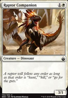 Battlebond: Raptor Companion