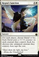 Battlebond Foil: Regna's Sanction