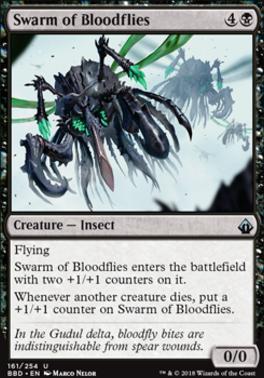 Battlebond Foil: Swarm of Bloodflies