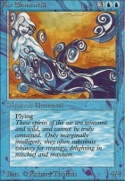 Beta: Air Elemental
