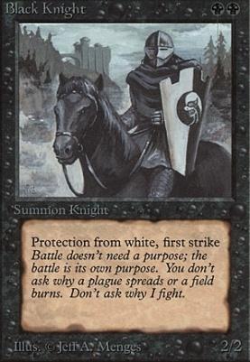 Beta: Black Knight