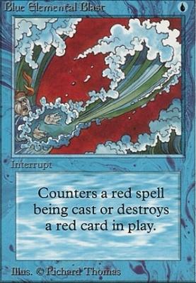Beta: Blue Elemental Blast