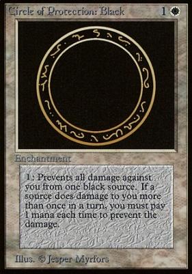 Beta: Circle of Protection: Black