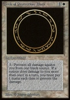 Beta: Circle of Protection: Black