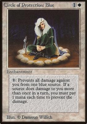 Beta: Circle of Protection: Blue
