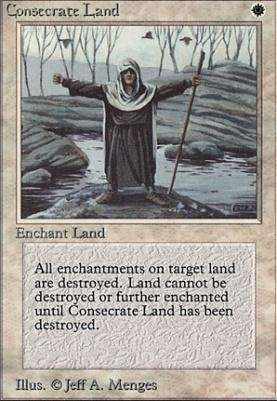 Beta: Consecrate Land