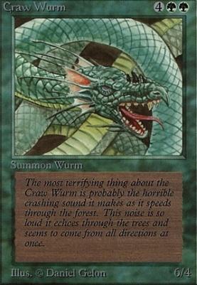 Beta: Craw Wurm