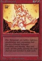 Beta: Fire Elemental
