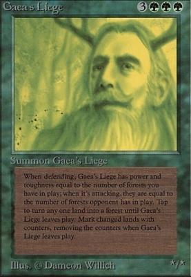 Beta: Gaea's Liege