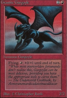 Beta: Granite Gargoyle