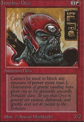 Beta: Ironclaw Orcs