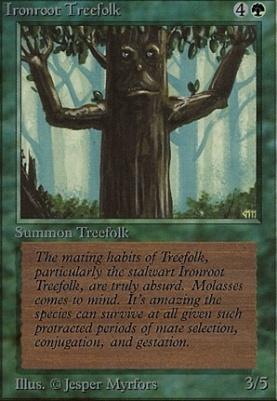 Beta: Ironroot Treefolk