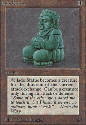 Beta: Jade Statue