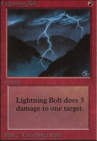 Beta: Lightning Bolt