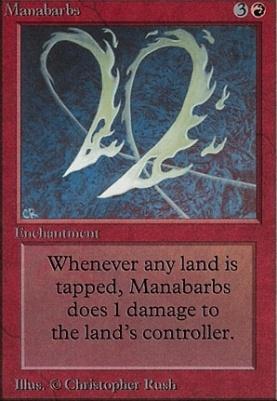 Beta: Manabarbs