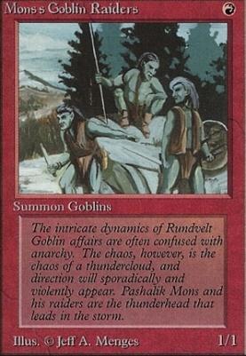 Beta: Mons's Goblin Raiders