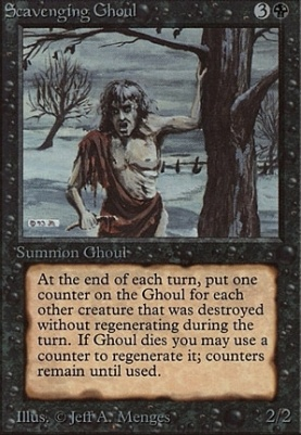 Beta: Scavenging Ghoul
