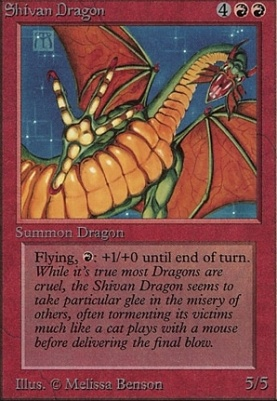 Beta: Shivan Dragon
