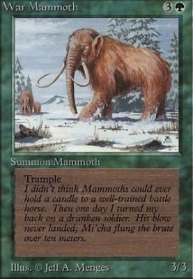 Beta: War Mammoth