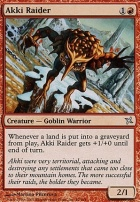Betrayers of Kamigawa: Akki Raider