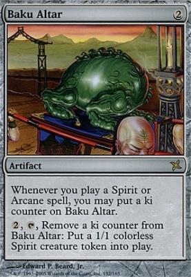 Betrayers of Kamigawa: Baku Altar
