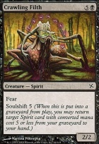 Betrayers of Kamigawa Foil: Crawling Filth