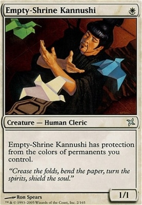 Betrayers of Kamigawa Foil: Empty-Shrine Kannushi