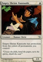 Betrayers of Kamigawa Foil: Empty-Shrine Kannushi