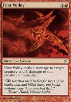 Betrayers of Kamigawa Foil: First Volley