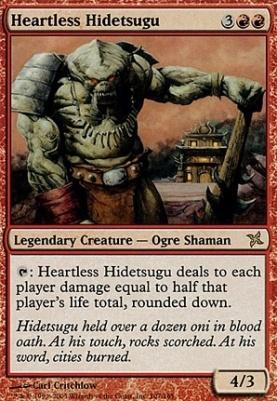 Betrayers of Kamigawa: Heartless Hidetsugu