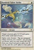 Betrayers of Kamigawa Foil: Hundred-Talon Strike