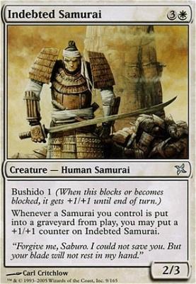 Betrayers of Kamigawa: Indebted Samurai