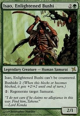 Betrayers of Kamigawa: Isao, Enlightened Bushi