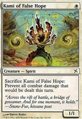 Betrayers of Kamigawa: Kami of False Hope