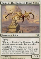 Betrayers of Kamigawa Foil: Kami of the Honored Dead