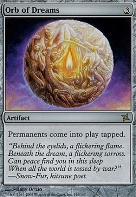 Betrayers of Kamigawa: Orb of Dreams