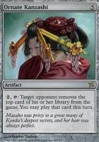Betrayers of Kamigawa Foil: Ornate Kanzashi