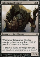 Betrayers of Kamigawa Foil: Takenuma Bleeder
