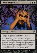 Betrayers of Kamigawa Foil: Three Tragedies