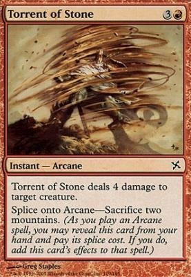 Betrayers of Kamigawa: Torrent of Stone