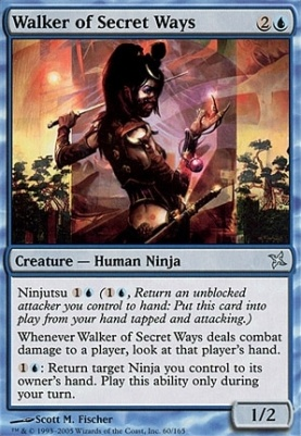 Betrayers of Kamigawa: Walker of Secret Ways