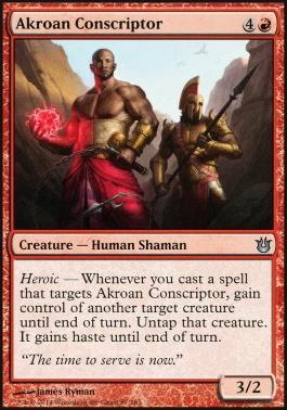 Born of the Gods: Akroan Conscriptor