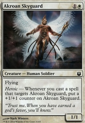 Born of the Gods: Akroan Skyguard