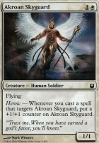 Born of the Gods Foil: Akroan Skyguard