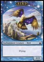 Born of the Gods: Bird Token (Blue)
