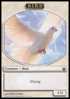 Born of the Gods: Bird Token (White)